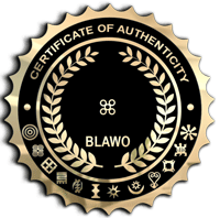 Blawo Certificate of Authenticity