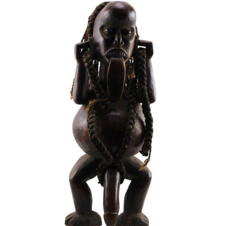 Ibibio statuette from Nigeria.