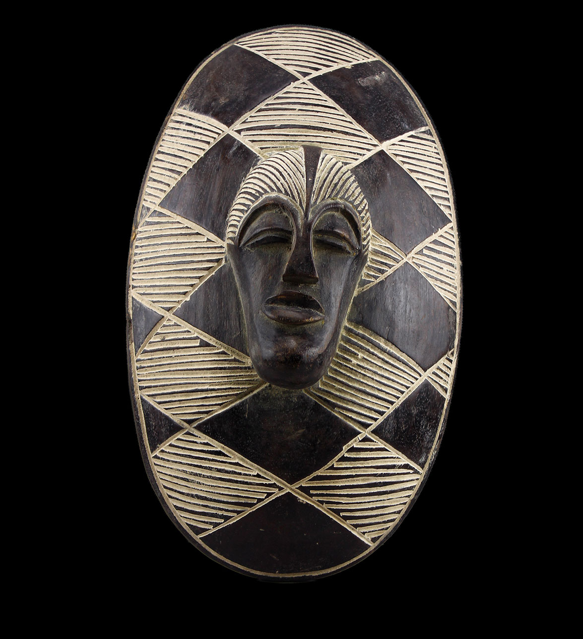 Songye Shield African Carving